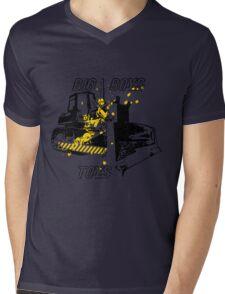 Big Boys Toys Mens V-Neck T-Shirt