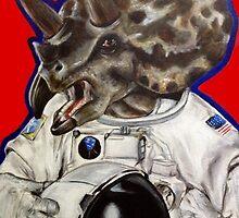 Prehistoric Astronaut by Kristin Frenzel