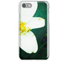 White, Yellow and Purple iPhone Case/Skin