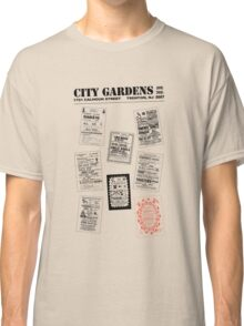City Gardens - Punk Card Tee Shirt (v. 3.0) Classic T-Shirt