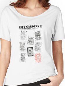 City Gardens - Punk Card Tee Shirt (v. 3.0) Women's Relaxed Fit T-Shirt