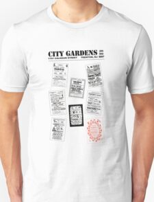 City Gardens - Punk Card Tee Shirt (v. 3.0) T-Shirt