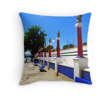 Carnival Entrance Throw Pillow