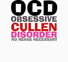 Twilight OCD Obsessive Cullen Disorder T-Shirt Womens Fitted T-Shirt