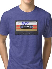 Rap Music - Rapper HIP HOP - MC DJ Tri-blend T-Shirt