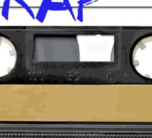 Rap Music - Cassette Tape - MC Sticker