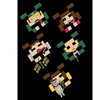 SPACED INVADERS Photographic Print