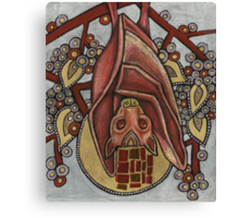 Icon IV: The Fruit Bat Canvas Print