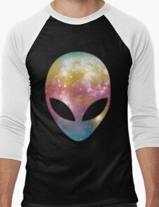 Space Alien Men's Baseball ¾ T-Shirt