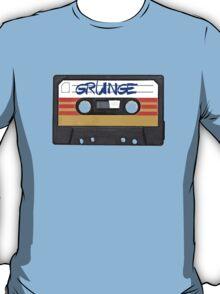 Grunge Music - Cassette Tape T-Shirt