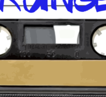Grunge Cassette Tape Sticker