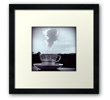 High-Tea Framed Print