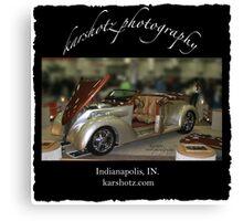 Custom Show Car Canvas Print