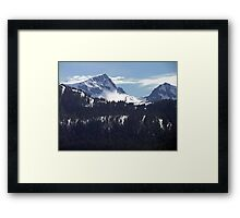 Strathcona Park Mountains Framed Print
