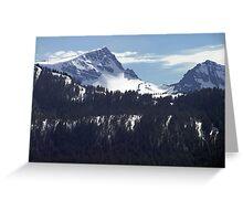 Strathcona Park Mountains Greeting Card