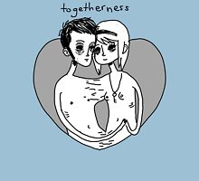 Togetherness. Womens Fitted T-Shirt