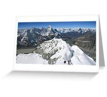 Himalaya High Greeting Card