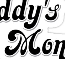 Daddy's Lil Monster Sticker