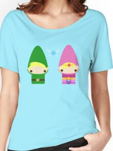 Gnome Link and Zelda Women's Relaxed Fit T-Shirt