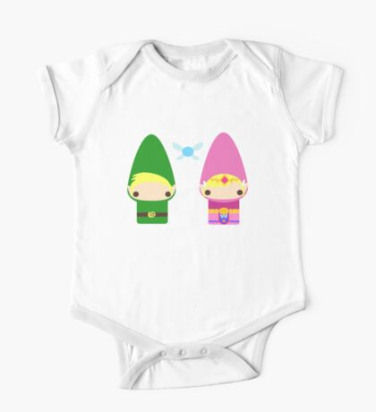 Gnome Link and Zelda One Piece - Short Sleeve