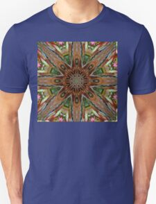 Warm Shades of Feathery Colors T-Shirt
