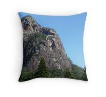 Glasshouse Mountains Throw Pillow