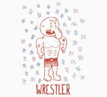 Wrestler by Reuben Whitehouse