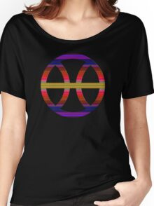 PISCIS SYMBOL RAINBOW Women's Relaxed Fit T-Shirt