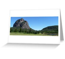 Glasshouse Mountains Greeting Card