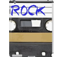 Rock and Roll music cassette iPad Case/Skin