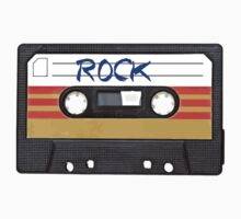Rock and Roll music cassette Kids Tee