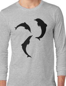 BLACK DOLPHINS Long Sleeve T-Shirt