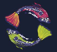 PISCIS GUPPIES TWO by fashionforlove
