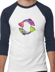PISCIS GUPPIES TWO Men's Baseball ¾ T-Shirt
