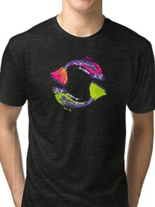 PISCIS GUPPIES TWO Tri-blend T-Shirt