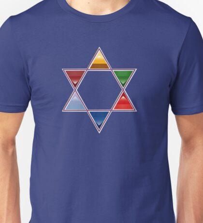 ESTRELLA DE DAVID Unisex T-Shirt