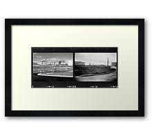 Double Industrial  Framed Print