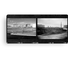 Double Industrial  Canvas Print