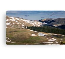 mountain plateau Lago-Naki Canvas Print