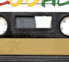 Reggae Music - Cassette Tape - Awesome phone cases Sticker