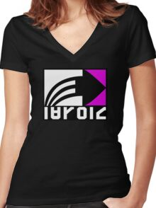 Inkling Brand Women's Fitted V-Neck T-Shirt