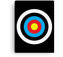 Walking Archery Target Canvas Print