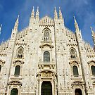 Milan Duomo by Harry Oldmeadow