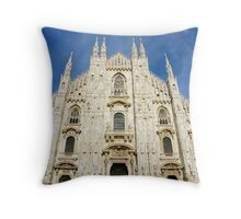 Milan Duomo Throw Pillow