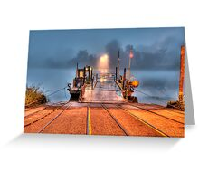 Who pays the Ferryman? Greeting Card