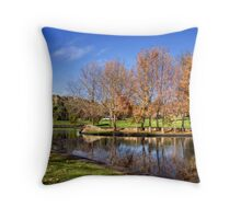 Lungs of the City Throw Pillow