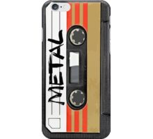 Metal Music - Cassette Tape iPhone Case/Skin