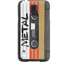 Heavy metal Music band logo - Cassette Tape Samsung Galaxy Case/Skin