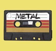 Heavy metal Music band logo Kids Tee