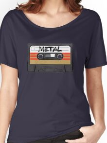 Heavy metal Music band logo Women's Relaxed Fit T-Shirt